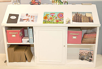 trade show booth storage by Manny Stone Decorators