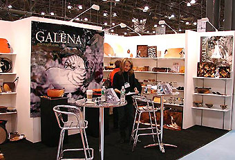 Galena trade show booth by Manny Stone Decorators