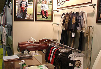 J.B. Original Vintage trade show display by Manny Stone Decorators