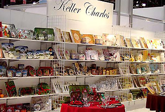 Keller Charles trade show display by Manny Stone Decorators
