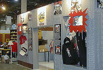 Tamash 2000 booth display built by Manny Stone Decorators