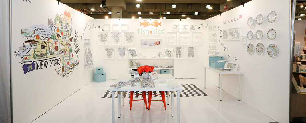 trade show booth design for exhibitors at the Javits Center